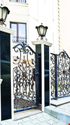 Ornamental Wrought Iron Gate Application - 7