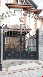 Ornamental Wrought Iron Gate Application - 32