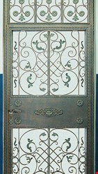 Ornamental Wrought Iron Gate Application - 53