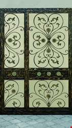 Ornamental Wrought Iron Gate Application - 56
