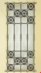 Ornamental Wrought Iron Window Application - 6