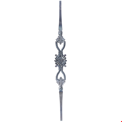 Forged Bar with Motifs