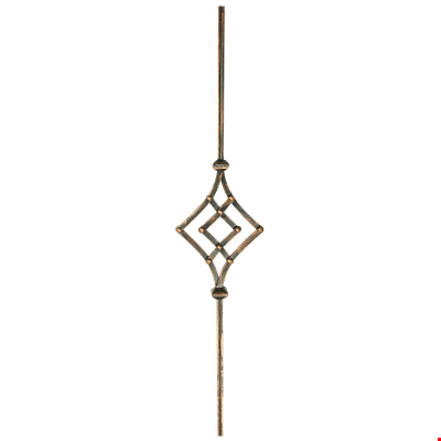 Baluster With Motif